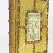 Das goldene Evangelienbuch von Echternach. Codex Aureus Epternacencis. Faksimile Mindestpreis:4.900 EUR