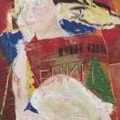 Das Lenin-Mausoleum 1994 | Pigmentmalerei auf Leinwand | 220 x 160cm