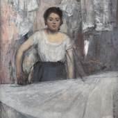 Edgar Degas (1834 - 1917), Die Büglerin, um 1869  © Bayerische Staatsgemäldesammlungen, Neue Pinakothek München