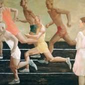 Aleksandr Dejneka (1899-1969) Wettlauf, 1932/33 Öl auf Leinwand, 229 x 259 cm © Staatliches Russisches Museum, St. Petersburg; VG Bild-Kunst, Bonn 2012