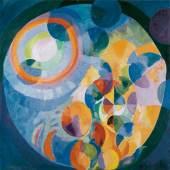 Robert Delaunay Formes circulaires. Soleil, lune, 1913 –1931 Öl auf Leinwand, 200 x 197 cm Kunsthaus Zürich