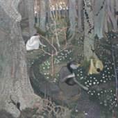 MAURICE DENIS Avril (Les anémones) (April [The Anemones]), 1891, oil on canvas, 65 x 78 cm, private collectio