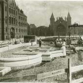 Der Bau des Stuhlmannbrunnens