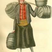 Der Bierbrauerbursche, Christoffer Sehr, 1805  Foto SHMH Museum für Hamburgische Geschichte
