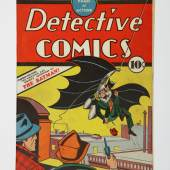 Detective Comics No. 27, the first appearance of Batman, May 1939