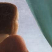 Georg Schrimpf (1889 – 1938)  Mädchen am Fenster   1935 Öl auf Leinwand   70,2x52,5cm Ergebnis: 251.000 Euro