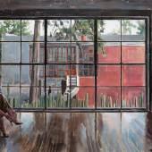 DÉNESH GHYCZY  Estudio, 2020 Öl, Acryl auf Leinwand 150 x 200 cm