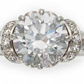 Diamant-Ring Deutschland Um 1970 1 Brillant ca. 3 Karat Schätzpreis: 60.000 - 70.000 Euro