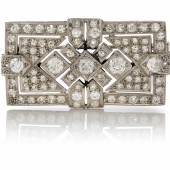 Diamond Brooch, 1920s - Jewels Online