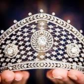 Formerly in the Collection of Duchess Cecilie von Mecklenburg-Schwerin, Princess Wilhelm von Hohenzollern, Princess von Prussia (1886-1954) Diamond tiara, attributed to Fabergé, circa 1903 Estimate: CHF 200,000 – 300,000 / USD 200,000 – 300,000