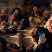 Anton Maulbertsch (1724 – 1796), Das letzte Abendmahl, Öl/Leinwand, 134,5 x 222,5 cm, Inv. Nr. 233, Aufnahme: Ulrich Ghezzi, Oberalm