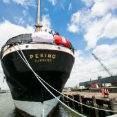 Die PEKING auf der Caddell Werft in New Jersey, Foto Victor Hugo