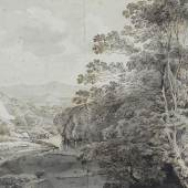 Johann Georg von Dillis: Landschaft, undatiert, Museum Georg Schäfer, Schweinfurt