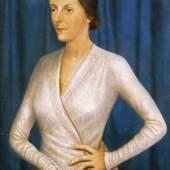 Galerie St. Etienne Otto Dix, Bildnis der Sängerin, Frau Stüntzner, 1932 Courtesy of the gallery