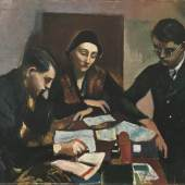 Josef Dobrowsky, Lehrstunde, 1934 Öl auf Leinwand 101,5 x 118,5 cm © Belvedere, Wien / © Bildrecht, Wien, 2014