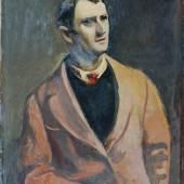 Josef Dobrowsky, Selbstporträt, 1936 Öl auf Leinwand 90 x 70 cm © Belvedere, Wien / © Bildrecht, Wien, 2014