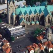 nmuseum Paderborn, Architektur,Luftansicht (c) dioezesanmuseum-paderborn.de