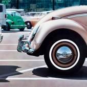 Heinrich Nordhoff und sein Werk, 1955  © Volkswagen Aktiengesellschaft 2016 Foto: Reinhold Lessmann