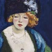 Galerie Thomas Kees van Dongen, Portrait de femme blonde au chapeau, ca. 1912 © VG Bild-Kunst, Bonn 2021 © Galerie Thomas, 2021