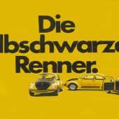Anonym Die gelbschwarzen Renner, 1973/74 Deutschland Offsetdruck © Museum Folkwang