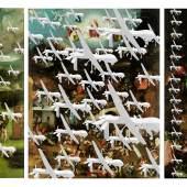 Ivica Capan (* 1966 Zagreb), Drohnen im Paradies. Die alltägliche Apokalypse, 2016, Fotomontage, pigment print on hahnemühle photorag baryta, © Ivica Capan