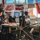 Druckwerkstatt aus Matagalpa, Nicaragua  Foto: Eckhard Froeschlin