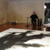 Thomas Meier-Castel in seinem Atelier © Foto Ute Gortner