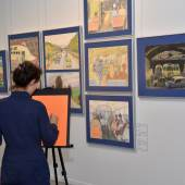 Selbst in der Ausstellung zum Künstler werden