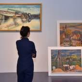 """Blick in die Ausstellung """"Tröger, Technik, Talente"""""""