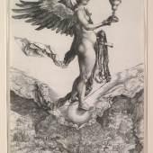 Albrecht Dürer Nemesis (Das grosse Glück) Kupferstich, um 1501