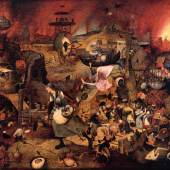 Pieter Bruegel d. Ä. (um 1525/30 vermutlich in Breugel oder Antwerpen - 1569 Brüssel) Dulle Griet 1562 (?), 117,4 x 162 cm Museum Mayer van den Bergh, Antwerpen, Belgien © Museum Mayer van den Bergh