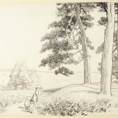 E. H. Shepard an enchanted place on the very top of the Forest Estimate £70,000-90,000