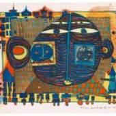 """Bunt und mit """"Green Power"""" - Hundertwasser-Schwerpunkt bei der Auktion Moderne Graphik"""