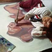 Maria Lassnig, Juni 1983 © Kurt-Michael Westermann / Maria Lassnig Stiftung