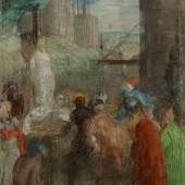 Edgar Degas, Olinde et Sophronie, circa 1859-61, est. £34,000 – 44,000
