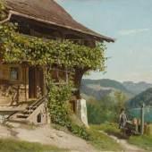 Eduard Bühler. 1853 Brienz - 1912 Aeschi. Studierte in München und Genf. War ab 1902 in Aeschi bei Frutigen ansässig.