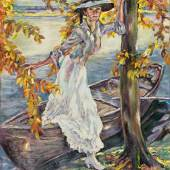 Edward Cucuel. 1875 San Francisco - 1954 Pasadena. Besuchte die Kunstakademie in San Francisco Ausrufpreis:25000 Euro