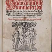 Albertus Magnus. Daraus man alle Heimligkeit deß Weiblichen geschlechts erkennen kan (Dr. W. u. J. Eichenberger 3.200 CHF)