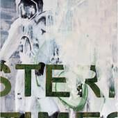 Afronauts 09C02, 2009, Acryl auf Leinwand, 180 x 130 cm