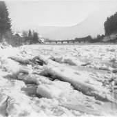 Eisgang auf der Mur, Radkersburg, 1929 © Museum im Alten Zeughaus, Bad Radkersburg
