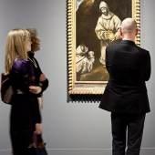 Heiliger Franziskus mit Bruder Leo  El Greco (Werkstatt und Schule) 'Heiliger Franziskus in Andacht mit Bruder Leo' (1. Drittel 17. Jahrhundert, Museo del Greco, Toledo)