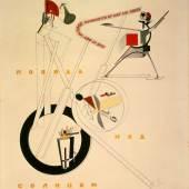 El Lissitzky, Schaumaschinerie, 1923,  Sammlung Van Abbemuseum, Foto: Peter Cox