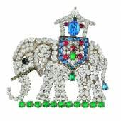 Nr. 60 Elefantenbrosche, Rudolf Weiss Rufpreis € 700