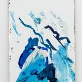 Elke Silvia Krystufek, Gary Hume, 2019, acrylic on coated chipboard, 32,5 x 19 cm |