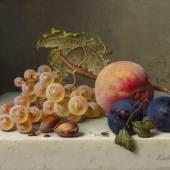 Emilie Preyer Früchtestillleben Öl/Lw | 17,5 x 23cm Ergebnis: 35.840€