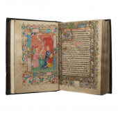 Les Enluminures The Saxby Psalter-Hours (Use Of Sarum)