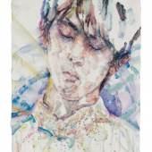 Elizabeth Peyton Hanyu (Yuzuru Hanyu), 2018 Oil on board 36 x 28,5 cm