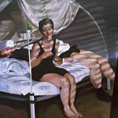 Eric Fischl The Krefeld Project: The Bedroom. Scene 1, 2002 Öl auf Leinwand ALBERTINA, Wien – The JABLONKA Collection © Eric Fischl / Bildrecht Wien, 2019