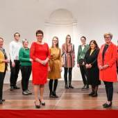 Erika Schuster und das Team der Kulturinitiative Gmünd