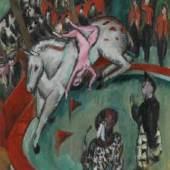 Ernst Ludwig Kirchner, Circus, 1913 Öl auf Leinwand, 119,8 x 99,8 cm © Bayerische Staatsgemäldesammlungen, Sammlung Moderne Kunst in der Pinakothek der Moderne, München